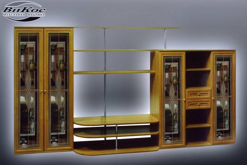 Купить мебельную стенку ноктюрн - 6 витраж, низкие цены инте.